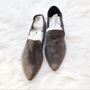 Shoes - Treasure & Bond Grey Kena Suede Flats Sz7